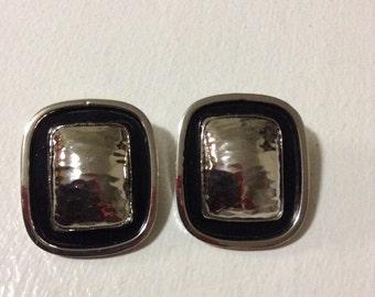 Sale Italian Designer Luisa Conti Vintage Clip on Earrings