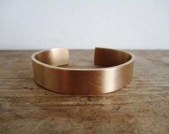 Brass bangle (handmade)