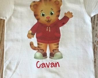 Custom Daniel the Tiger Shirt