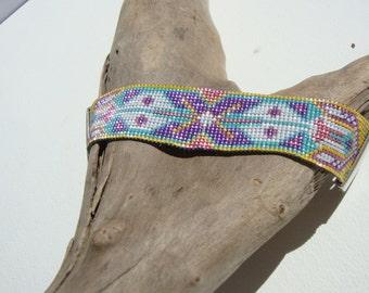 cuff bracelet-woven, ethnic, Bohemian