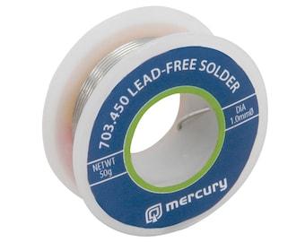 Lead Free Solder 1.0mm DIA 50g 7.5M Reel