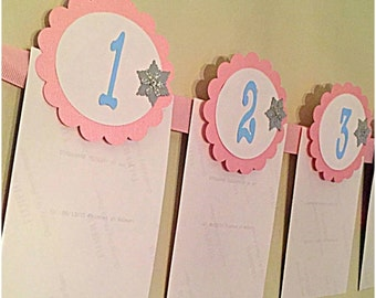 First Birthday Photo Banner - Winter ONEderland