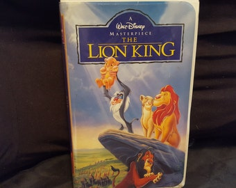 Disney Masterpiece The Lion King Vhs
