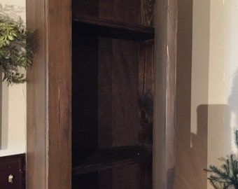 Primitive wall cupboard