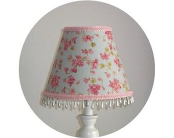 Cherry Blossom Shabby Chic Lamp Shade