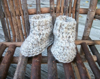 "Waldorf Doll Shoes, wool,  sole approx.  3.25"" long & 2.5"" high, Effanbee, Horsman"