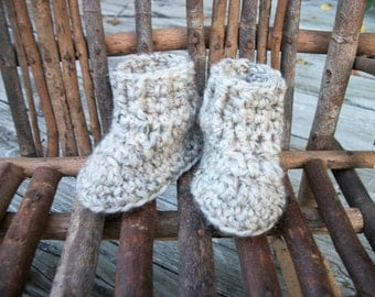 "Waldorf Doll Shoes, wool,  sole approx.  3.25"" long & 2.5"" high, 15"" Waldorf doll, Effanbee, Horsman"