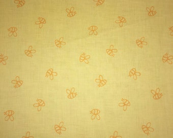 Winnie the POOH Honey Bees Yellow Designer Apparel Quilting Baby 100% Cotton Fabric 1 Yard Matches Other