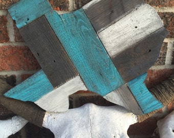 Reclaimed Wood Texas Sign