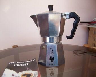 Vintage Bialetti Moka Express Coffee Maker