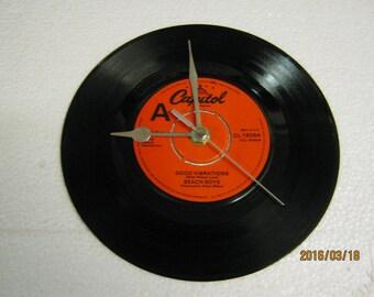 "The Beach Boys - ""Good Vibrations"" Record Clock"