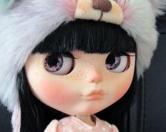 Realistic Blythe Doll Eyechip - Pink Shades