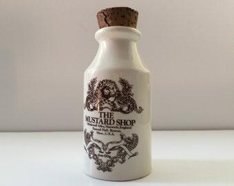 Vintage Mustard Bottle