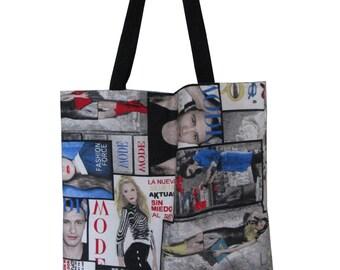Tote bag fashion large long handle