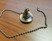 Harry Potter Sorting Hat from Hogwarts Ceiling Fan Light Kit Pull Chain Silver Beaded Pull Chain Witches Hat