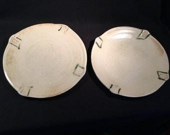 Hand designed dinner plates