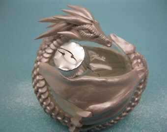 White Dragon Ornament, Made to order