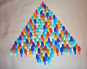 144 Vintage Ceramic Christmas Tree Lights Bulbs Twist 6 colors  *NEW*...Low Shipping!