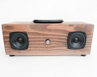 Soundbox - Portable Wood Speakers
