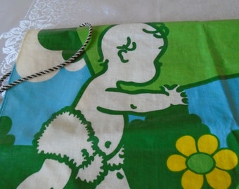 Vintage fairy liquid advertising pvc apron