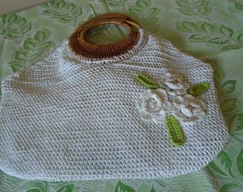 crocheted summer bag