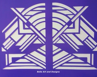 List 2 - Art Deco Stencils *Free gift with every order*