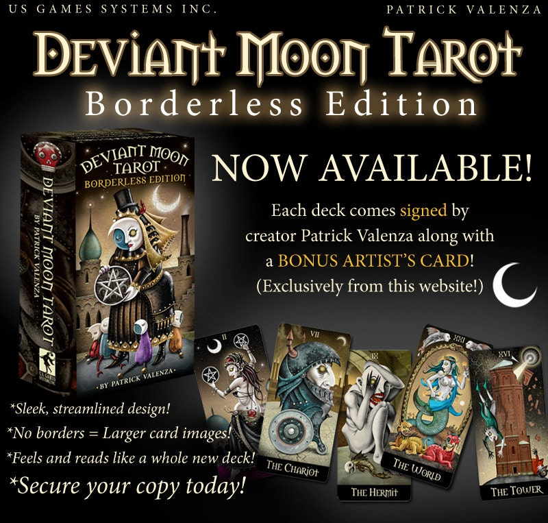 Deviant Moon Tarot SIGNED Borderless Edition