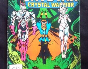 Marvel Vintage Comic Book - The Saga of Crystar