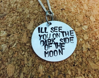 Pink Floyd The Dark Side Of  Moon Necklace
