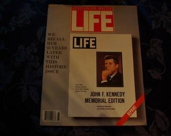 Life Magazine, John F. Kennedy Memorial Edition, Winter 1988