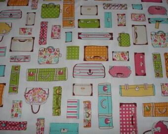 Fabric luggage / bag / suitcase