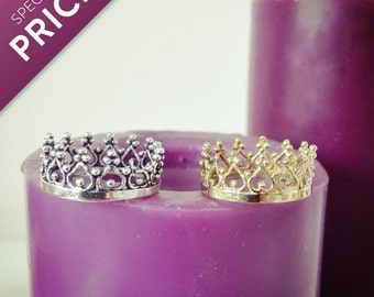 50% SALE! Crown Ring