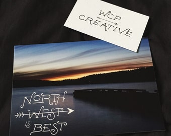 NW is Best Postcard