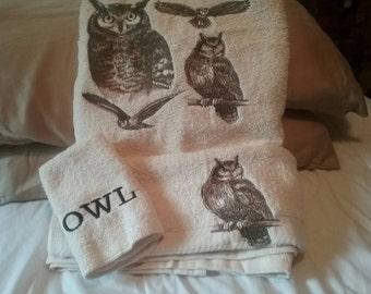 Owl swan or wolf