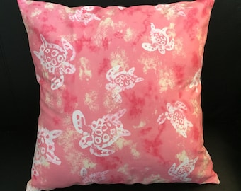 Turtle Pillow Cover | Throw Pillow | Baby Nursey Throw Pillow | Accent Pillow | Pillow Cover |  Turtles Pillow | Throw Pillows