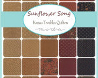 Sunflower Song Jelly Roll Moda Precuts