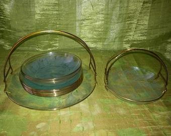 Set of vintage Soviet glassware