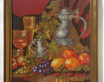 Handmade Embroidered art of painting