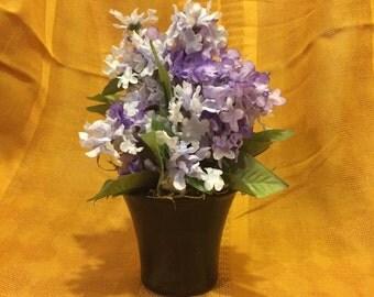 Lilac boquet vase