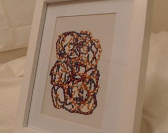 Digital Drawing - Framed Print #15