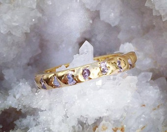 24carat Gold Plated Eternity Band