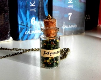 Polyjuice Potion necklace - jewelry of the apothecary