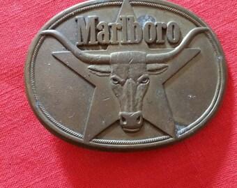 Marlboro Belt Buckle
