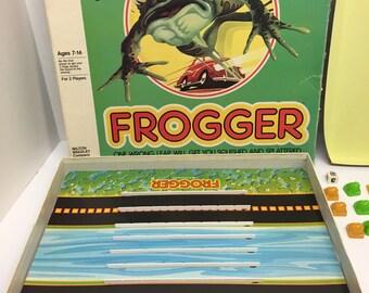 Frogger Board Game