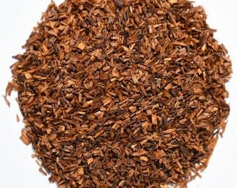 RED ROOIBOS | Organic | Herbal Tea | Herb | Oxidized | Loose Leaf | Tea Bags | Tea Tin | Iced Tea | Eco-Friendly