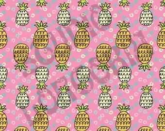 Pineapples 1/2 yd
