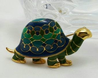 Turtle Pin Or Pendant