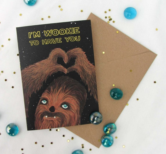 Star wars valentines day cards page six valentines day wikii the card is a6 size and blank inside ready for your own message ideal for an anniversary birthday or any occasion really bookmarktalkfo Choice Image