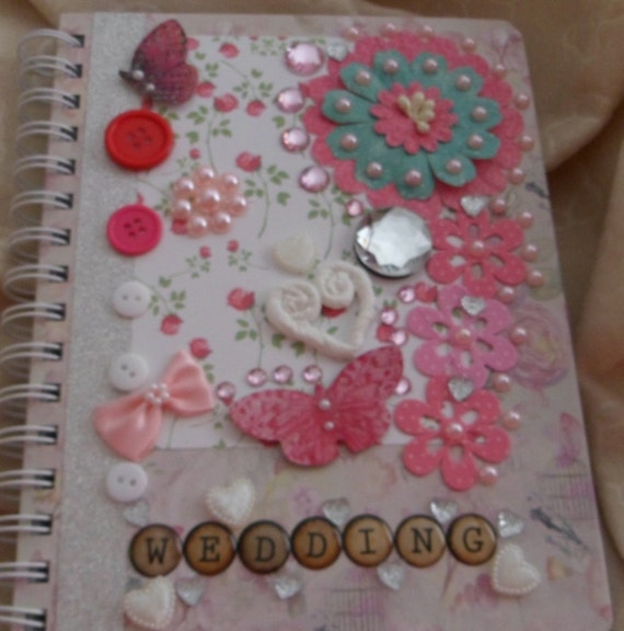 Wedding Notebook Journal Planner Blank