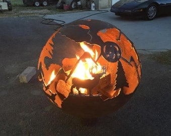 BALL FIRE PIT Sphere